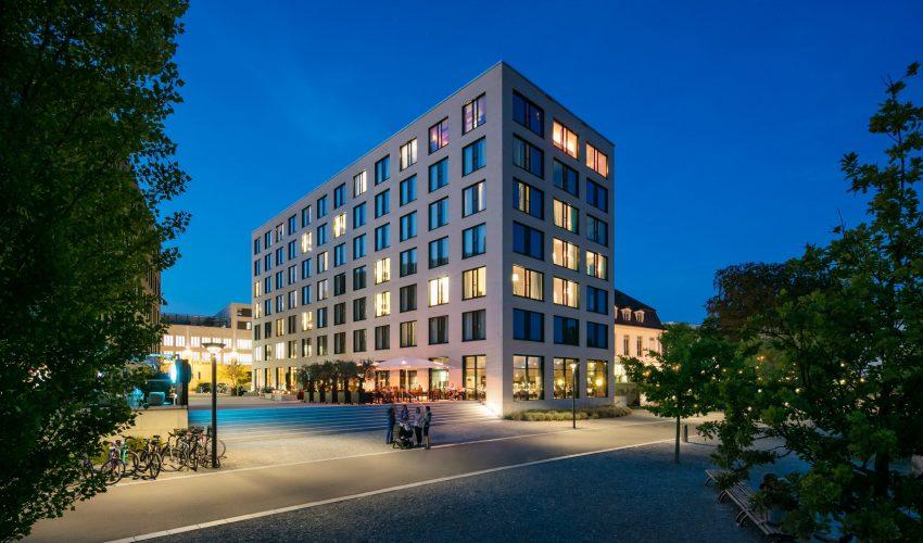 Hotel 47° Aussenansicht