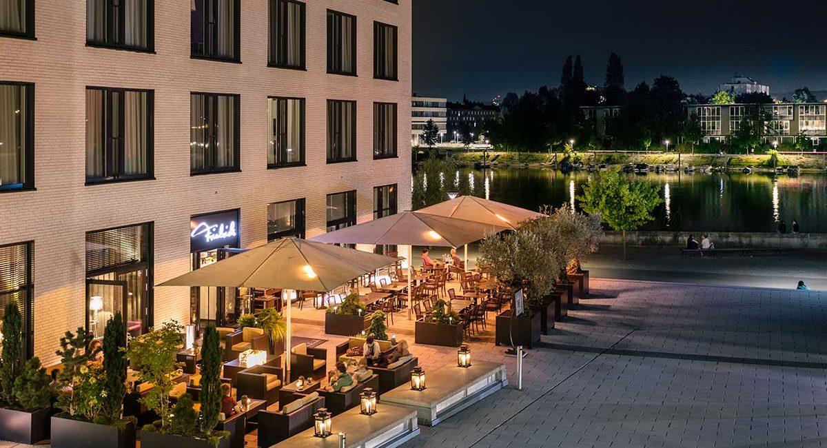 Terrasse Restaurant Friedrichs