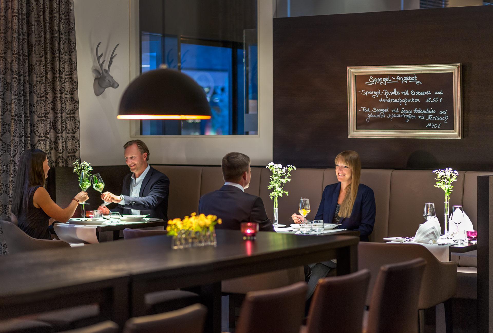 Abendessen Restaurant Friedrichs