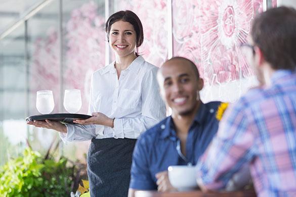 Service Restaurant Friedrichs